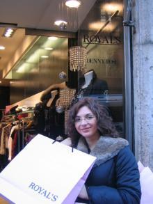ローマでショッピング