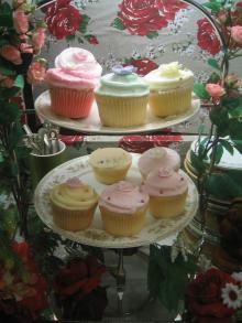 カップケーキ2段祭り
