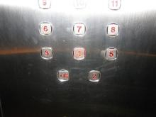 H.I.S.バンクーバー支店-エレベーター2