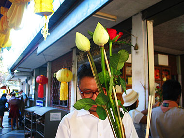 山下マヌーの マヌー式地球の遊び方-花とロウソクを購入