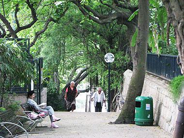 山下マヌーの マヌー式地球の遊び方-夫婦で公園散歩