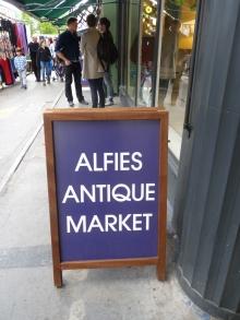 H.I.S.ロンドン雑学講座-ALFIE'S MARKET