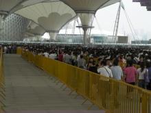 H.I.S.上海駐在事務所-行列