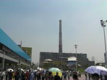 H.I.S.上海駐在事務所-煙突が目印