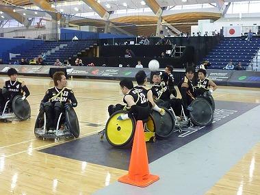 H.I.S. バンクーバー支店-車椅子ラグビーワールドカップ