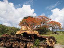 H.I.S.≫車いすで行く!バリアフリー旅行ハワイ、グァム、サイパン推進隊-SPN戦車2