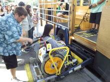H.I.S.バリアフリー旅行 車いすで行く!バリアフリー旅行ハワイ、グァム、サイパン応援隊-LIFT