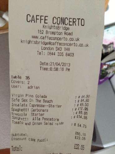 H.I.S.ロンドン雑学講座-Caffe_Concerto