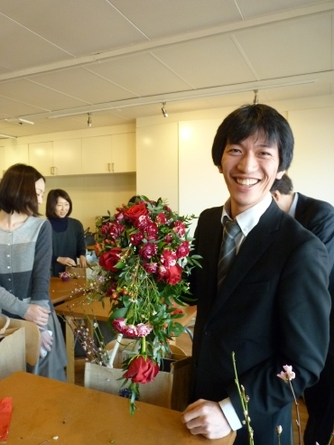 H.I.S.ロンドン雑学講座-英国式アレンジでウェディング用お花のブーケ