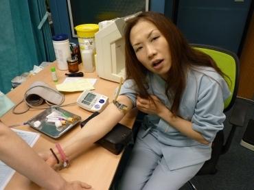 H.I.S.ロンドン雑学講座-健康診断@JGH