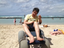 車いすで行く!バリアフリー旅行・ハワイ専門店 H.I.S.バリアフリー旅行専門デスク