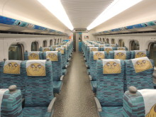 列車の内観